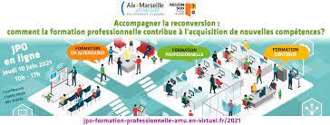2ème Edition Journée Porte Ouverte Formation Professionnelle -  Aix-Marseille Université